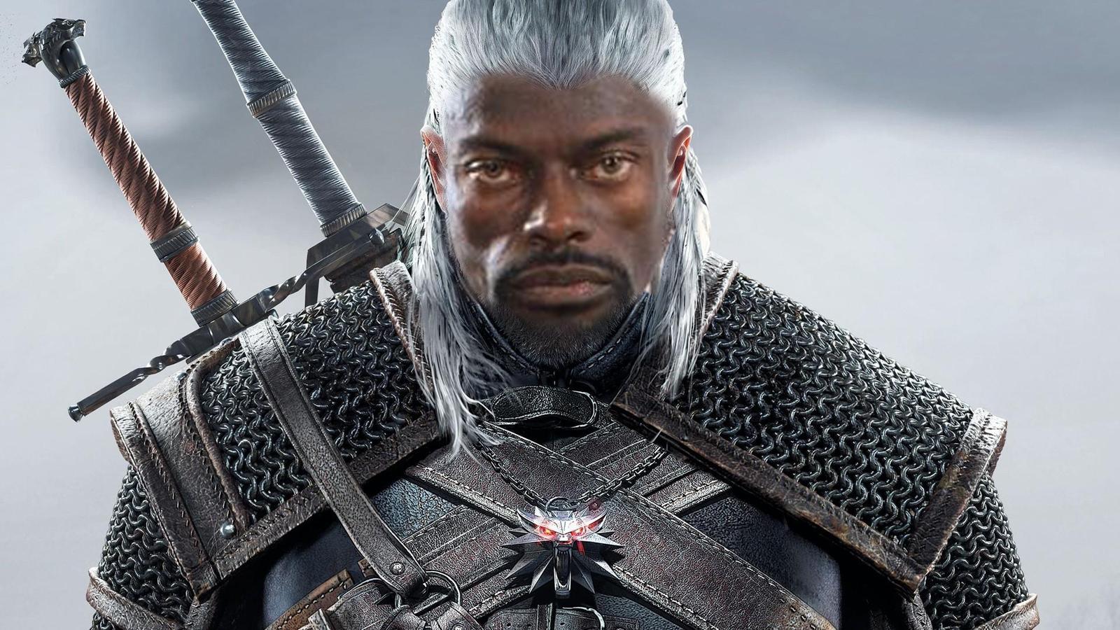 ведьмак негр черный властелин