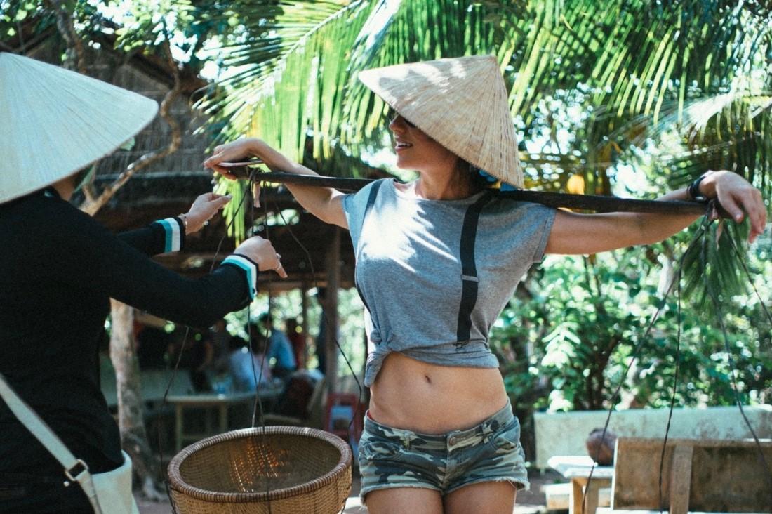 Лена Миро во Вьетнаме