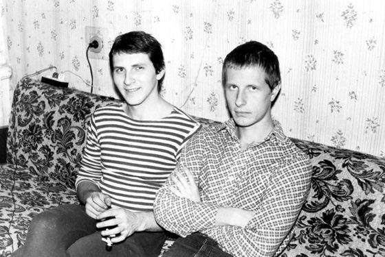 Фотография Дмитрий Пучков Гоблин в молодости (справа)