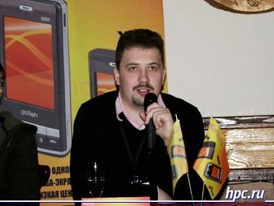 Михаил Фадеев в Eten Glofiish