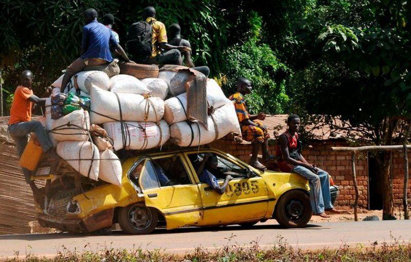 Картинки по запросу африка  машина прикол